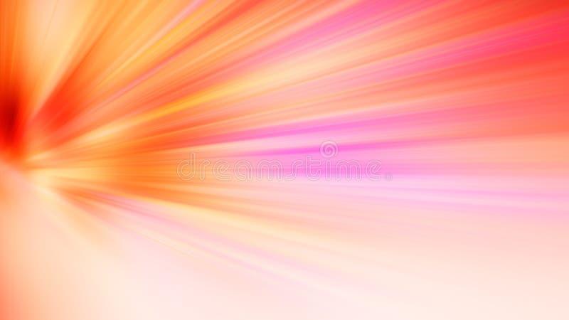 A luz abstrata borrada radial do fundo da cor colore vermelho, cor-de-rosa, amarelo, azul, verde, roxo imagem de stock