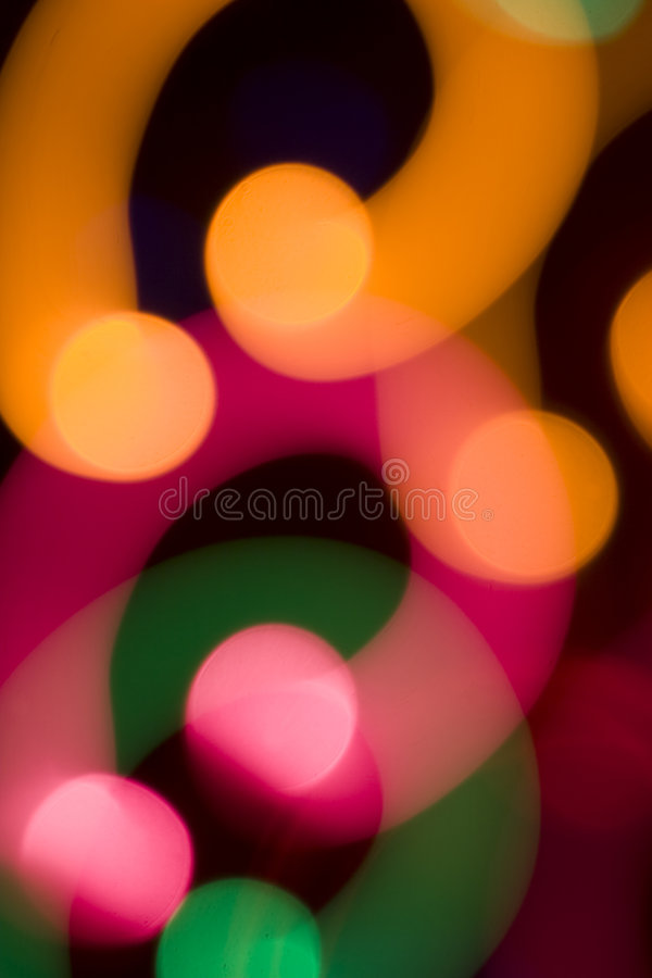 Luz abstrata da cor foto de stock royalty free