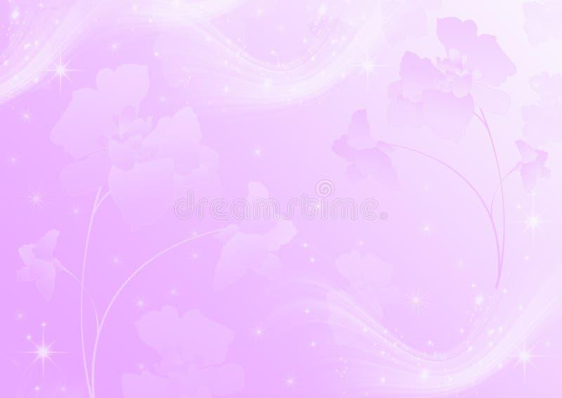 Luz abstrata - fundo cor-de-rosa imagens de stock royalty free