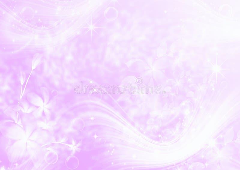 Luz abstrata - fundo cor-de-rosa imagens de stock