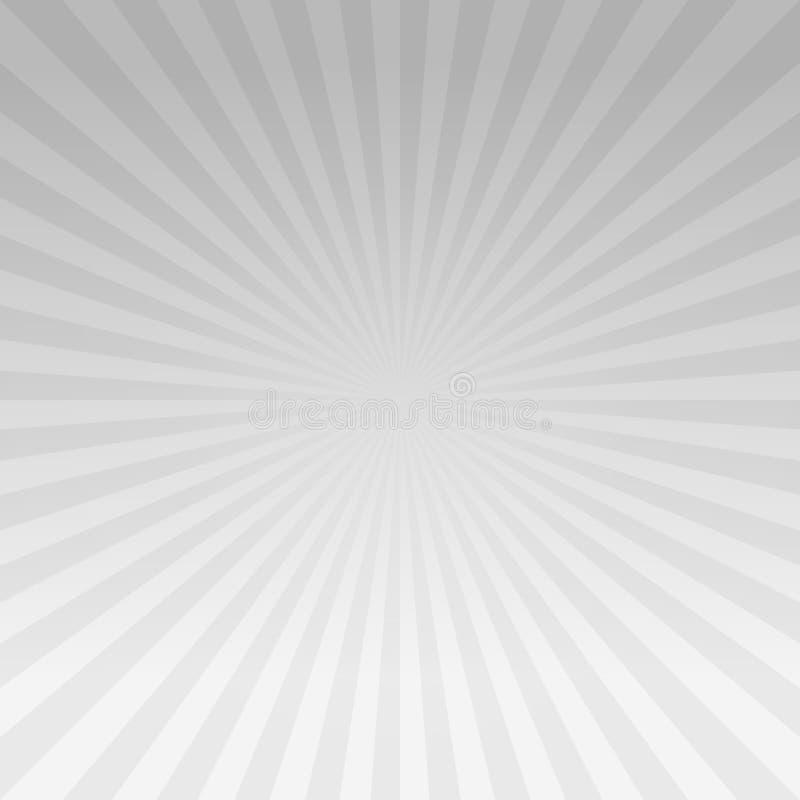 Luz abstrata - o inclinação cinzento irradia o fundo Cmyk do EPS 10 do vetor ilustração royalty free