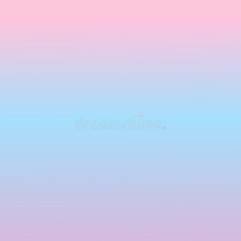 Luz abstrata - rosa e fundo azul Cor lisa da textura do inclinação Fundo colorido ilustração do vetor