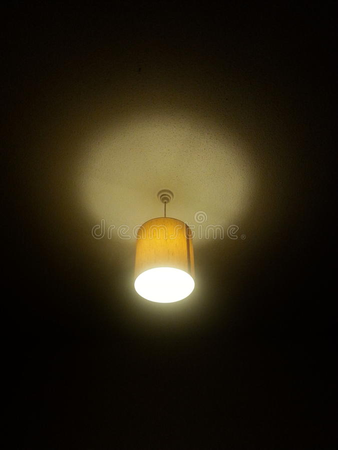 Luz alaranjada imagem de stock