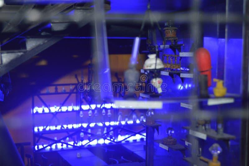 Luz azul imagem de stock royalty free