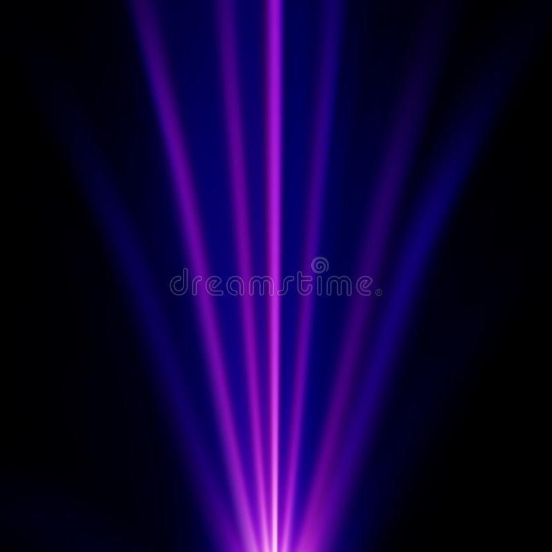 Luz azul e roxa ilustração stock