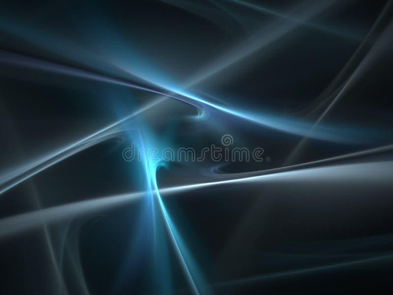 Luz azul ilustração stock