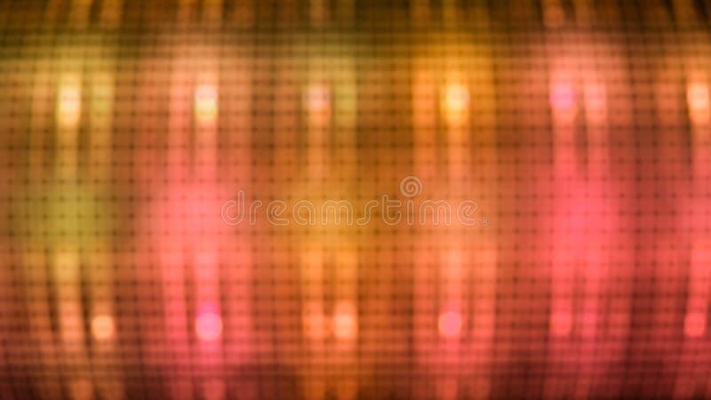 Luz blured sumário ilustração do vetor