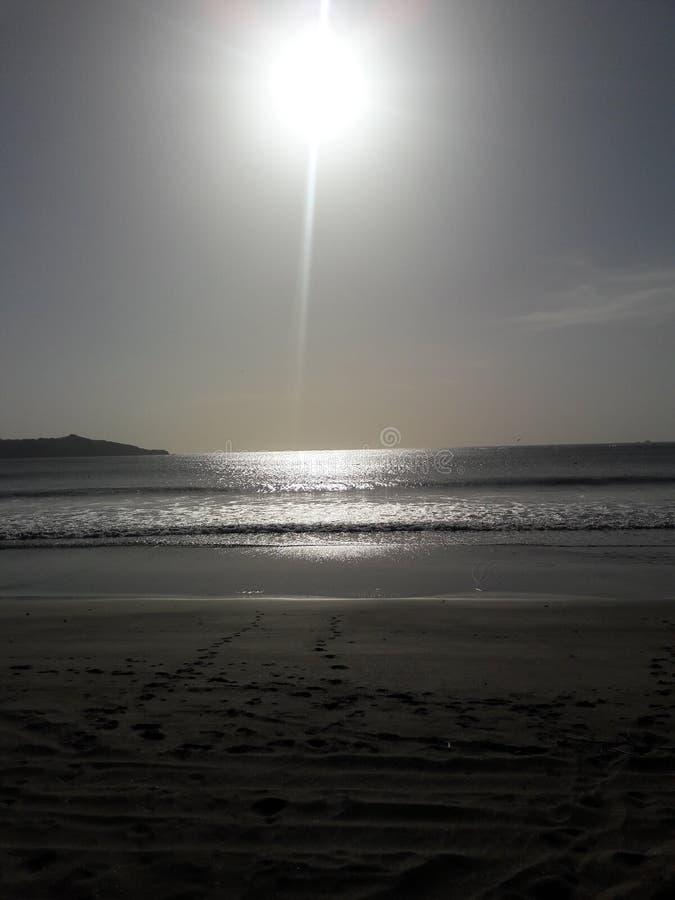 Luz brillante del sol imagenes de archivo