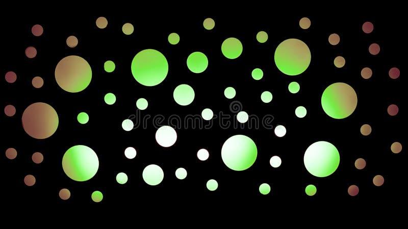 A luz circunda o fundo ilustração stock
