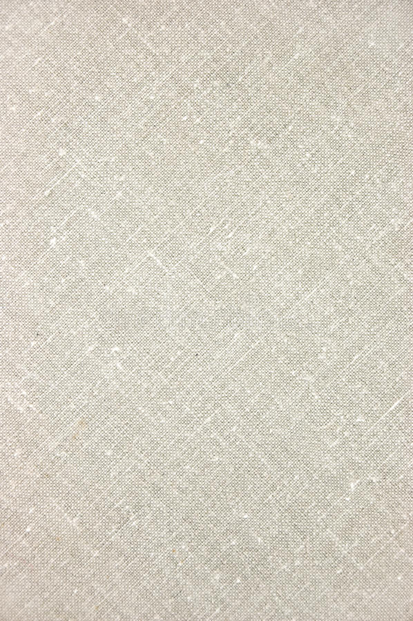 Luz - close up diagonal de linho cinzento da textura imagens de stock royalty free