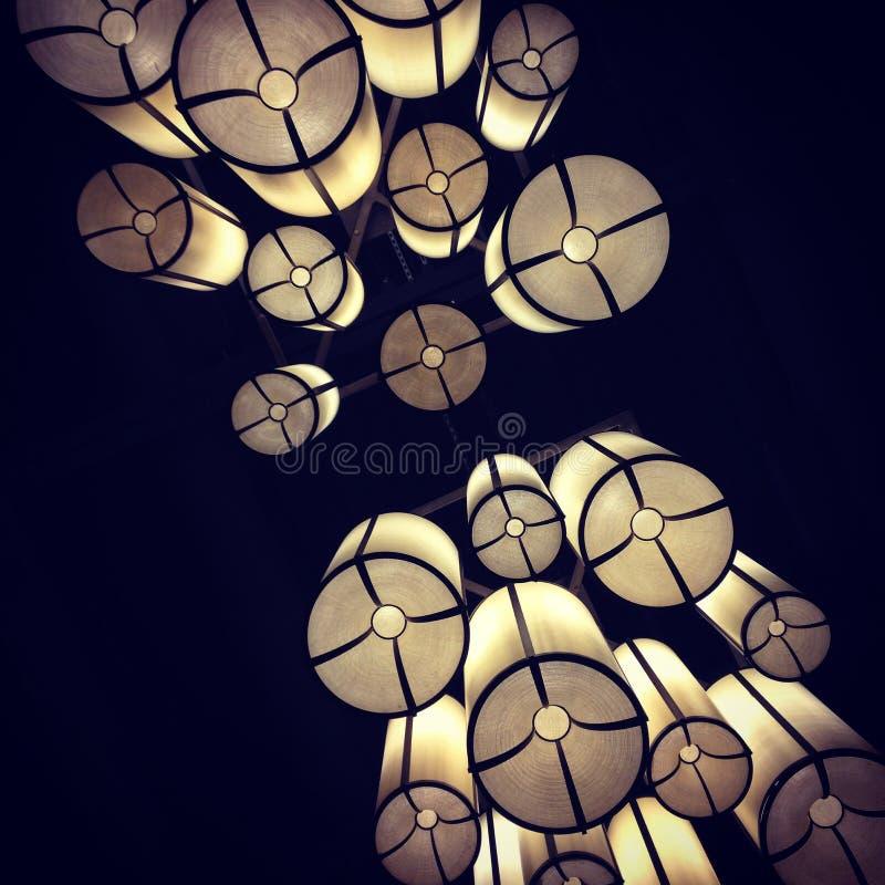 Luz colgante fotos de archivo libres de regalías