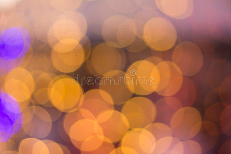 Luz colorida abstracta de la forma del fondo del bokeh foto de archivo