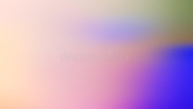 A luz colorida abstrata borrada do fundo colore vermelho, cor-de-rosa, amarelo, azul, verde imagem de stock royalty free