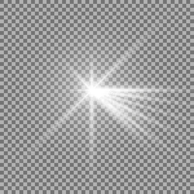 Luz con un resplandor libre illustration
