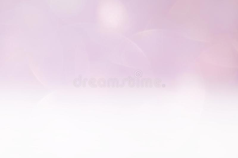 Luz cosmética de lujo lisa, lujo púrpura del brillo del fondo suave rosado del color de la sombra de la pendiente del rosa del fo imagen de archivo