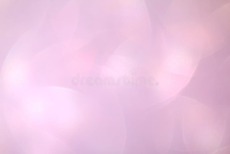Luz cosmética luxuosa lisa, luxo roxo do brilho do fundo macio cor-de-rosa da cor da máscara do inclinação do rosa do fundo da be foto de stock