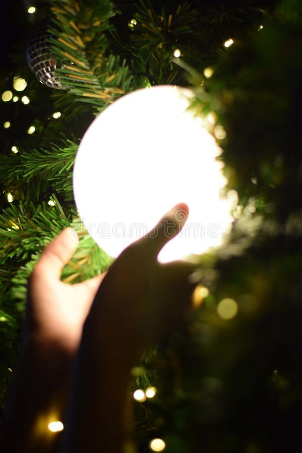 a luz da estrela fotografia de stock