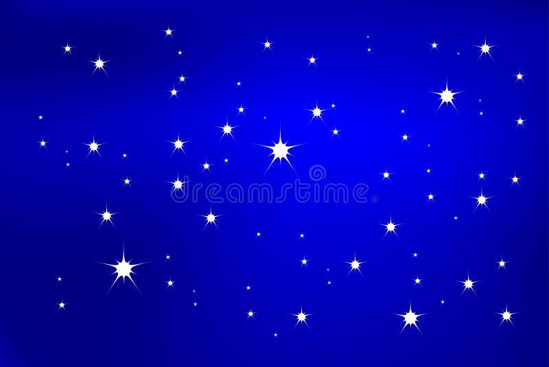 Luz da estrela ilustração stock