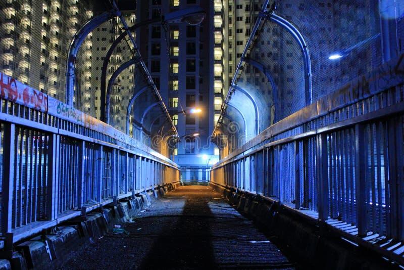 Luz da noite fotografia de stock