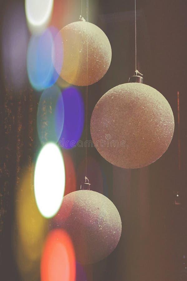 Luz de Bokeh foto de archivo