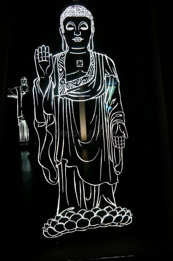 Luz de Buda stock de ilustración