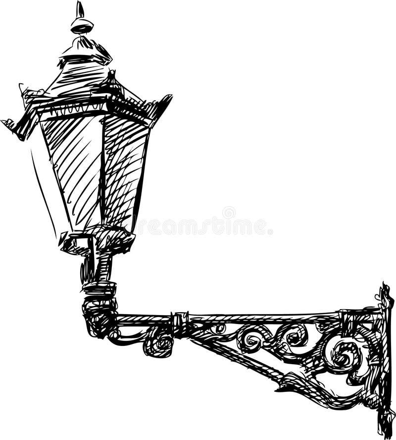 Luz de calle ilustración del vector