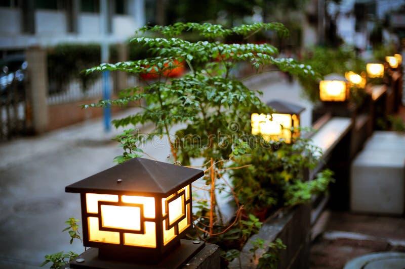 Luz de calle foto de archivo