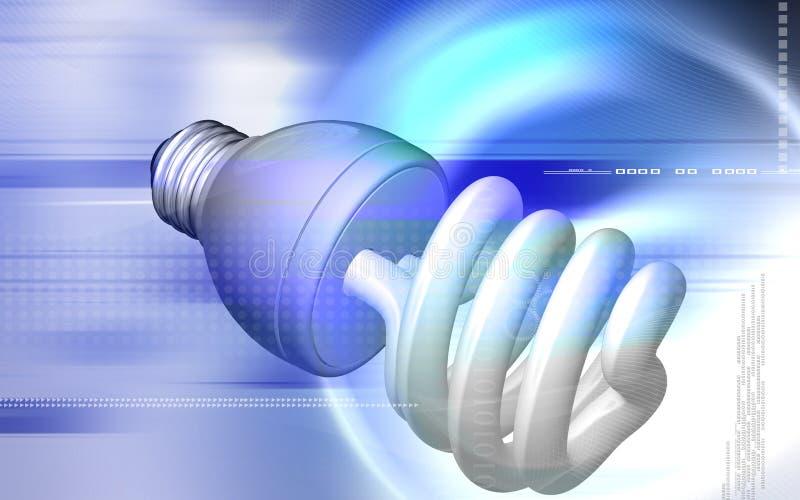 Download Luz de CFL stock de ilustración. Ilustración de azul, movimiento - 7282537