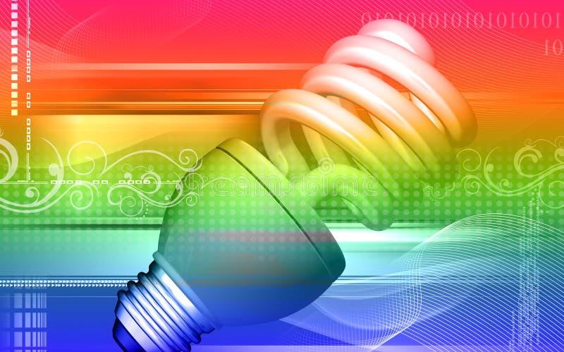 Download Luz de CFL stock de ilustración. Ilustración de invención - 7283019