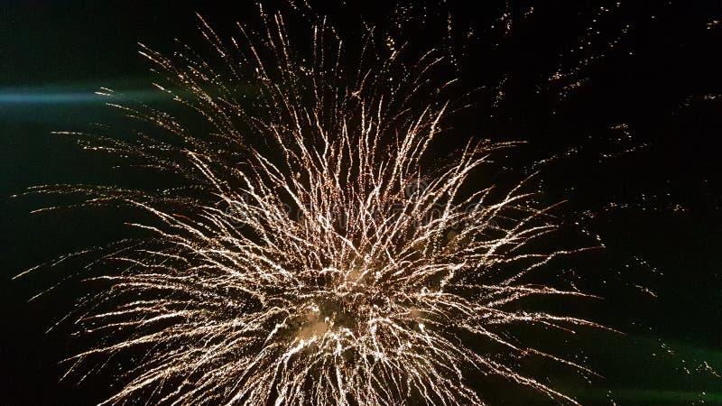 Luz de cielo en la noche fotografía de archivo libre de regalías