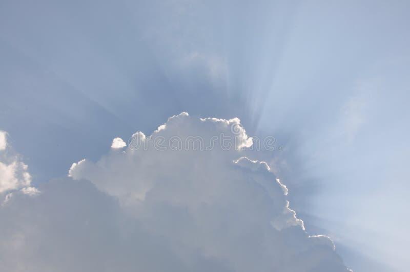 Luz de dios fotografía de archivo libre de regalías
