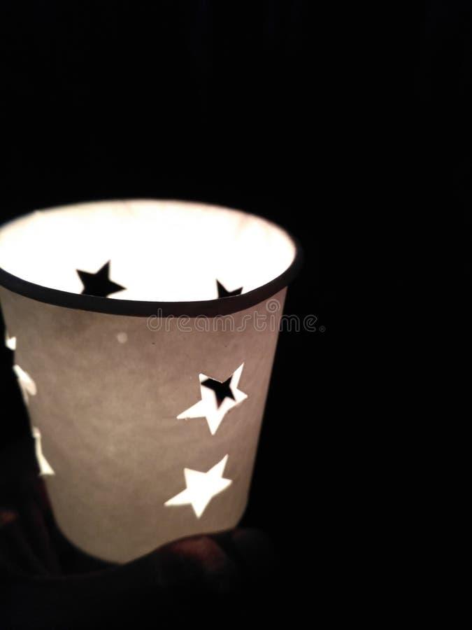 Luz de la fe fotografía de archivo