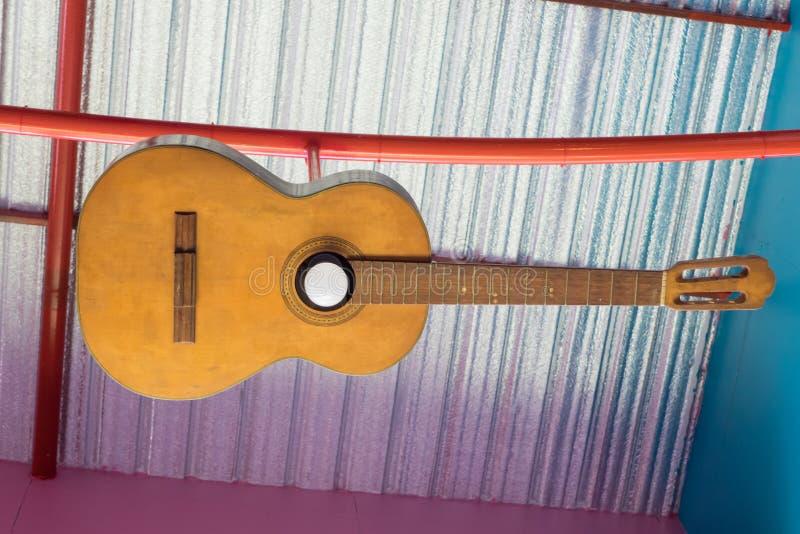 Luz de la guitarra imagen de archivo libre de regalías