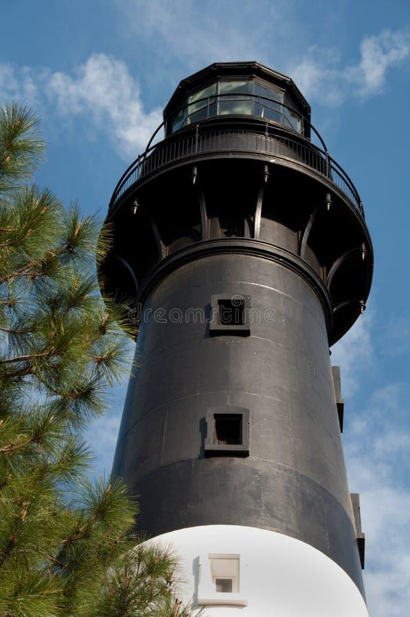 Luz de la isla de la caza en Beaufort, Carolina del Sur fotos de archivo
