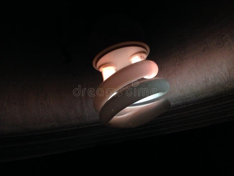 Luz de la lámpara imagen de archivo libre de regalías