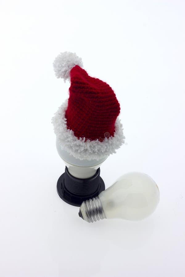 Luz de la lámpara de la bombilla imagenes de archivo