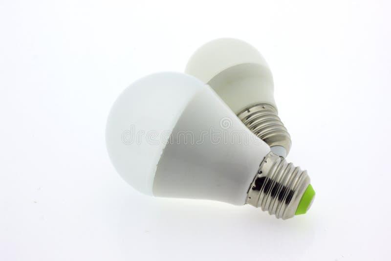 Luz de la lámpara de la bombilla imágenes de archivo libres de regalías