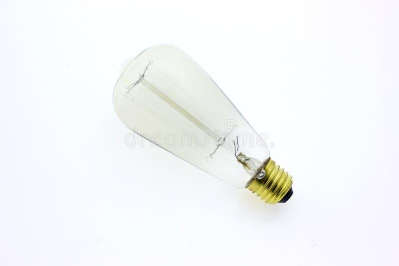 Luz de la lámpara de la bombilla foto de archivo
