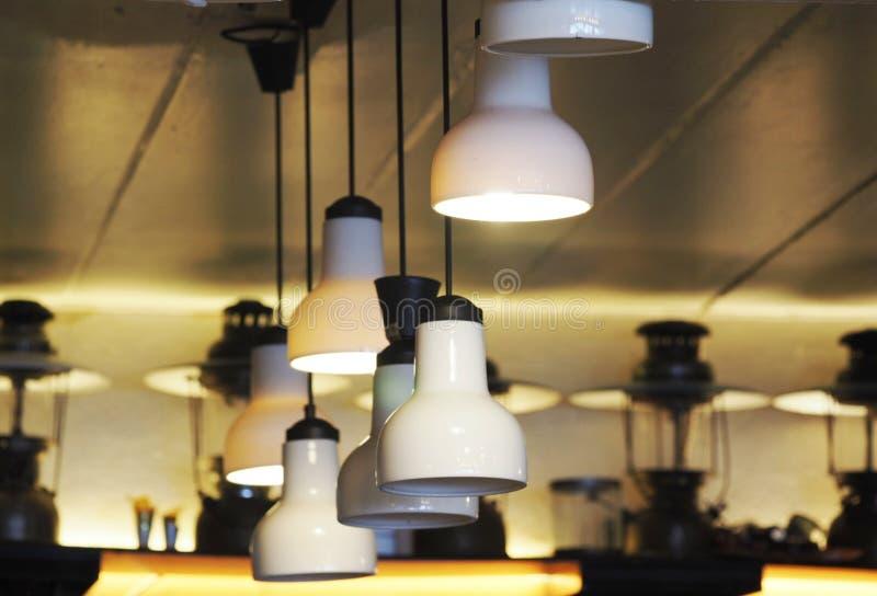 Luz de la lámpara fotos de archivo libres de regalías