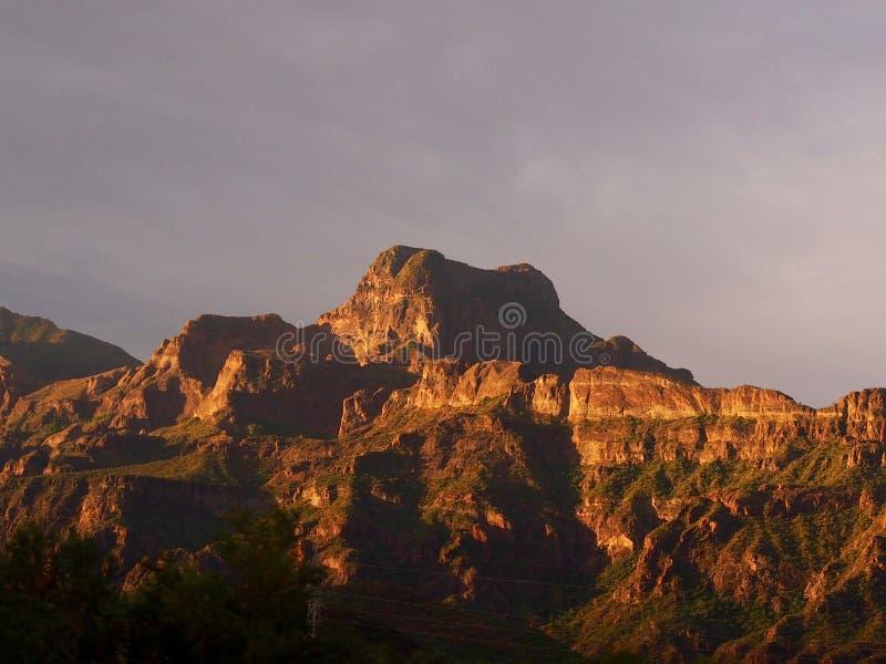 Luz de la mañana de Baja fotos de archivo
