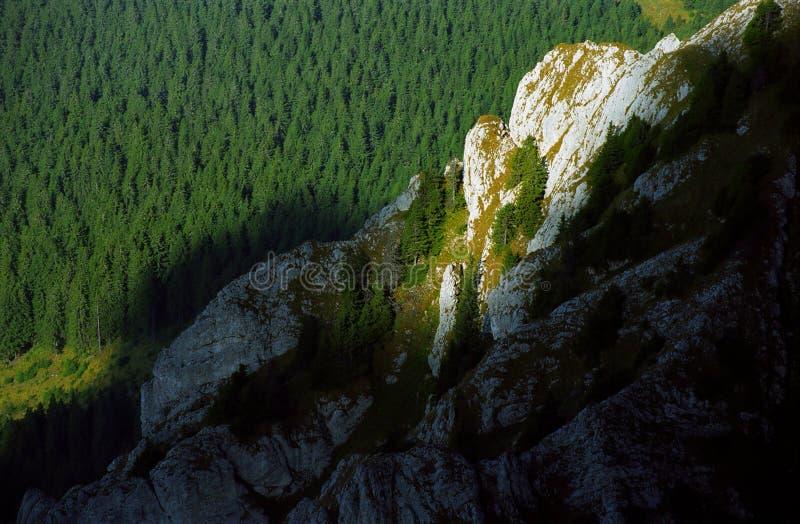 Luz de la montaña imagen de archivo libre de regalías