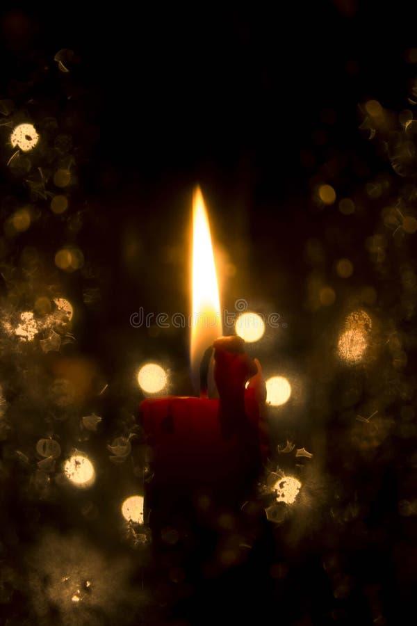 Luz de la Navidad fotos de archivo