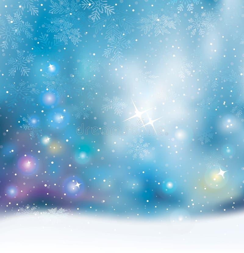 Luz de la Navidad stock de ilustración