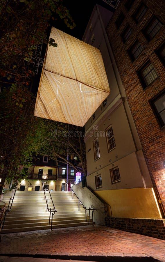 Luz de la piedra arenisca - herencia del paisaje en Sydney viva imagen de archivo libre de regalías
