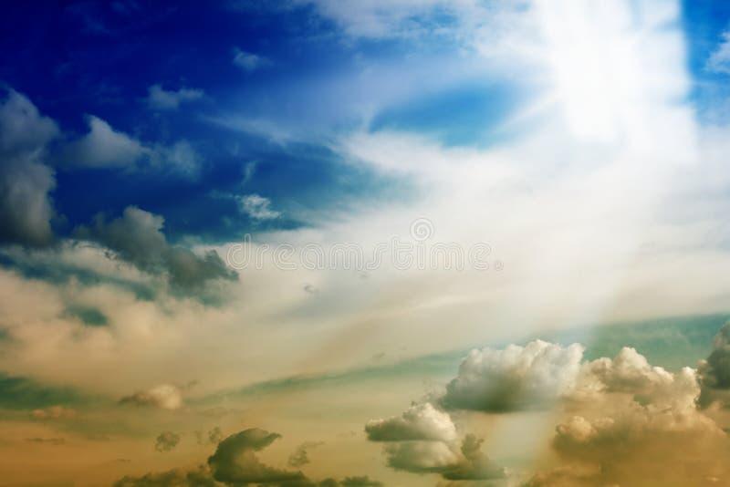 Luz de la ventana del cielo fotos de archivo libres de regalías