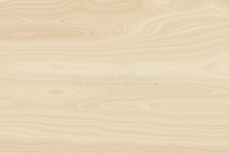 Luz de madeira do fundo - de madeira marrom, teste padr?o da madeira ilustração stock