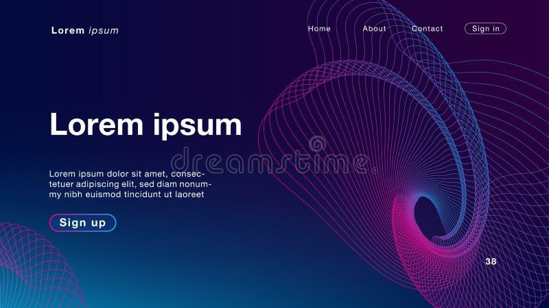 Luz de mistura da cor roxa abstrata do fundo para o homepage ilustração royalty free