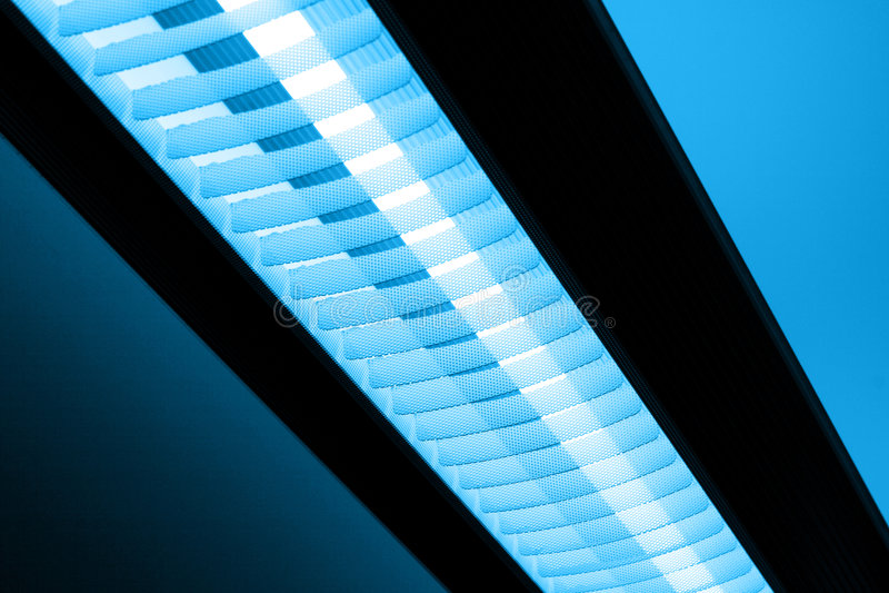 Luz de néon imagens de stock