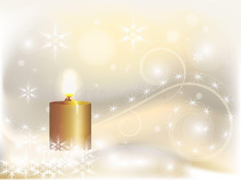 Luz de Natal ilustração do vetor