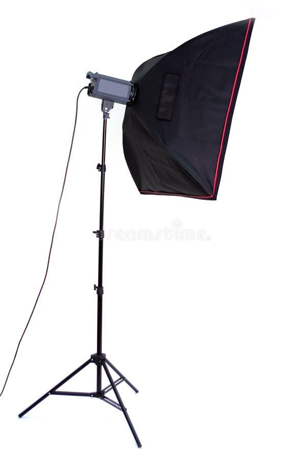 Luz de Phototechnique - softbox imagem de stock royalty free